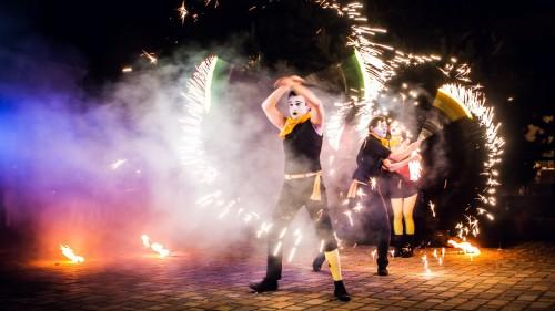 Ohnivá-show-Fireducks